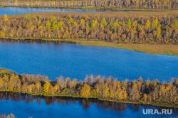 Природа Ямало-Ненецкого автономного округа, осень, озеро, водоем, природа ямала