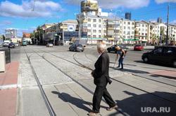 Ремонт дорог в Екатеринбурге, перекресток ленина московская