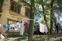 Поездка Дениса Паслера в поселок Монетный, старый дом, барак, поселок монетный, аварийное жилье