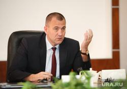 Пресс-чай с главой Сургутского района Андреем Трубецким. Сургут, трубецкой андрей