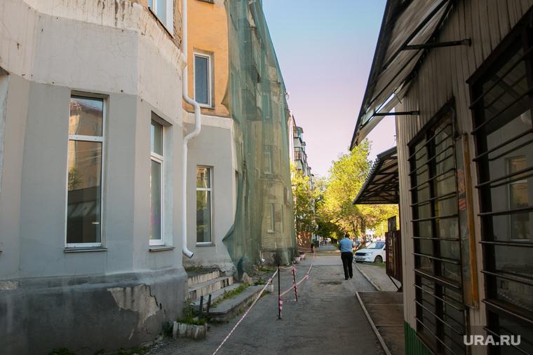 Аварийный дом по улице Коли Мяготина 74. Курган, аварийный дом, улица коли мяготина74