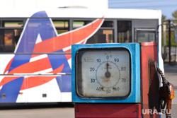 Дубровский на Челябавтотрансе. Автобусы. Челябинск., бензин, заправка, колонка, азс