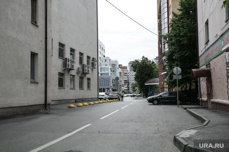 Улица Дзержинского , которая будет реконструирована. Тюмень, ул дзержинского