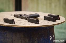Практическая стрельба из пистолета. Екатеринбург, пистолет, боевое оружие