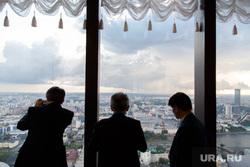 ИННОПРОМ-2017. Ответный прием японской стороны в ресторане Вертикаль в «Высоцком». Екатеринбург, ресторан вертикаль