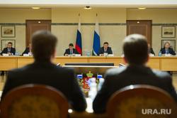 Игорь Левитин на заседании в резиденции губернатора СО. Екатеринбург, зал заседания, резиденция губернатора СО