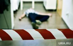Жертвы убийства. Трупы. Окровавленный нож, убийство, жертва, труп, расследование