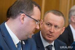 Заседание Городской думы Екатеринбурга и отчёт Александра Якоба, тушин сергей, кожемяко алексей