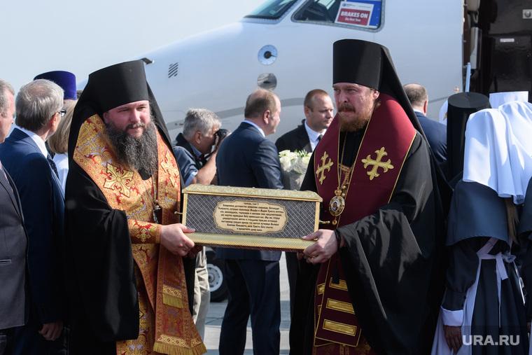 Прибытие Патриарха Кирилла в Екатеринбург