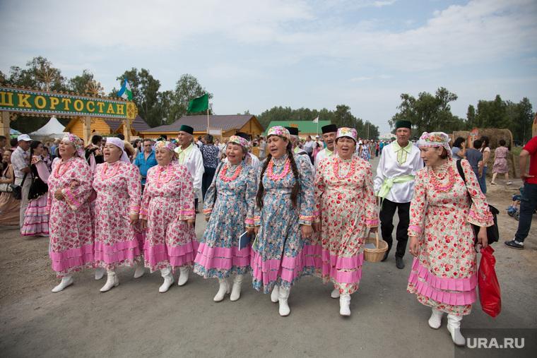 Всероссийский сельский Сабантуй. Село Альменьево. Курганская область, сабантуй