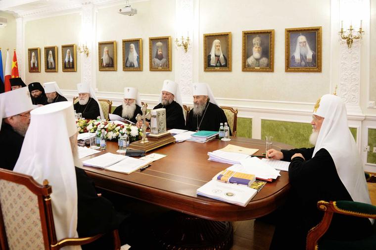 Заседание Священного Синода в Екатеринбурге