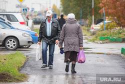 Ремонт дороги на улице Мира. Нижневартовск., пенсионеры, старики