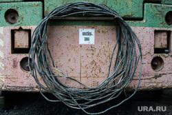 Рабочая поездка Бориса Дубровского в Трехгорный и Ашу, опасная зона, кабель