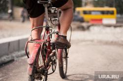 Ход работ на объектах улично-дорожной сети вокруг Центрального стадиона. Екатеринбург, велосипед, велосипедист