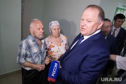 Визит Николая Цуканова в Курган  , пенсионеры, старики, цуканов николай
