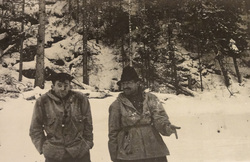 Фото группы Дятлова с пленки дятловцев, золотарев семен, тибо-бриньоль николай