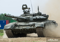 Гонка героев 2016. Екатеринбург, сухопутные войска, бронетехника, танк, тяжелое вооружение, гонка героев, Т-72Б3