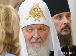 Патриарх Кирилл в Напольной школе. Свердловская область, Алапаевск, патриарх кирилл
