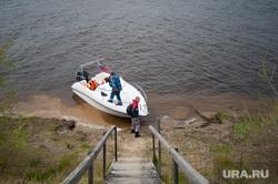 Доставка почты в труднодоступные районы Свердловской области, почта россии, катер, река, доставка почты
