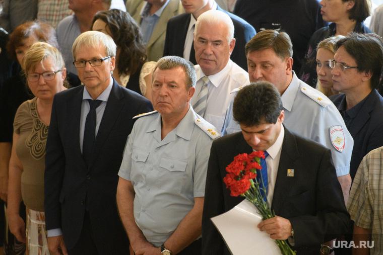 Прощание с Вениамином Яковлевым. Екатеринбург