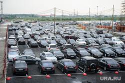 ИННОПРОМ-2018. Второй день международной выставки. Екатеринбург, машины, автостоянка, парковка, автомобили