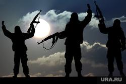 Клипарт depositphotos.com, оружие, терроризм, автоматы, террористы, военные действия, сирийцы