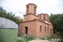Строительство церкви в мкр. Заозерный. Курган, стрительство часовни