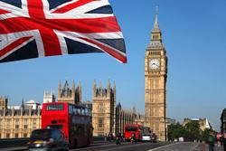 Клипарт depositphotos.com, лондон, англия, великобритания, флаг, биг бен, big ben, england