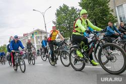 Велопарад в Кургане, велопробег, велосипедисты
