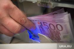 Обмен валют. Банки Екатеринбурга (Дополнение), евро, подсчет, валюта