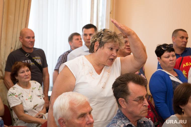 Публичные слушания по застройке города. Курган, участники слушаний