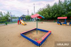 Виды города. Шадринск , детская площадка, комфортная среда