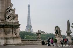 Виды Парижа. Париж, эйфелева башня, париж, мост александра третьего