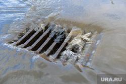 Последствия ливня в Челябинске, ливневая канализация, ливневка