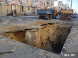 Виды Кургана, раскопки, раскопанная улица