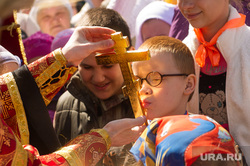 Детский крестный ход по случаю 1 июня. Екатеринбург, церковь, благославление, крестный ход, православие, рпц, дети