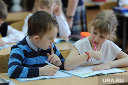 Поселок Роза. Челябинск., ученики, парта, школа4