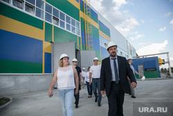 Посещение мусоросортировочного завода Константином Фрумкиным и Денисом Храмовым. Тюмень, мусоросортировочный завод, фрумкин константин
