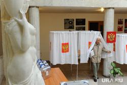 Мякуш. Челябинск, голосование, пенсионер, выборы, скульптура, избиратель, старик