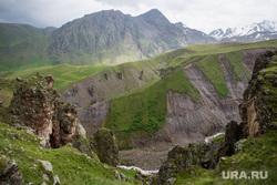 Кавказские горы в окрестностях Эльбруса, туризм, горы, природа россии, природа кавказа, приэльбрусье, урочище джилы су, достопримечательности кавказа, кавказские горы