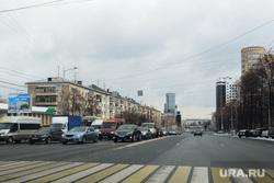 Обзор гостевого маршрута к приезду Путина. Челябинск, проспект ленина