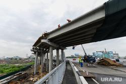 Строительство объектов к саммитам ШОС и БРИКС. Челябинск, мост, стройка, виадук, развязка