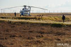 Поселок Тазовский, Новый Уренгой, Ямало-Ненецкий автономный округ, вертолет, ми-8, тундра