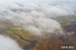 Природа Ямало-Ненецкого автономного округа, север, облака, тундра, арктика, ямал, природа ямала, вид сверху, осень, с квадрокоптера