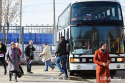 Акция в поддержку пострадавших и памяти погибших во время теракта в Санкт Петербурге.Челябинск, автобус