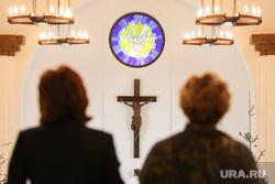 Католическое рождество. Сургут, церковь, католики, религия, крест, распятие, вера