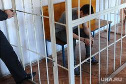 Суд. Убийство Елены Патрушевой. Челябинск., решетка, подсудимый, клетка