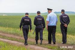 День уральского поля 2018. Чебаркульский район, Челябинская область, поле, полиция, дорога