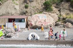 Крым., серебряный пляж
