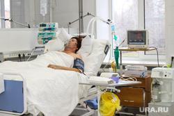 Выездная комиссия гордумы во 2 городскую больницу Курган, реанимация, медицинское оборудование, травматологическое отделение, больница